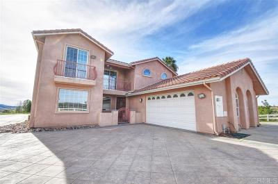 Murrieta, Temecula Single Family Home For Sale: 35200 Linda Rosea Rd