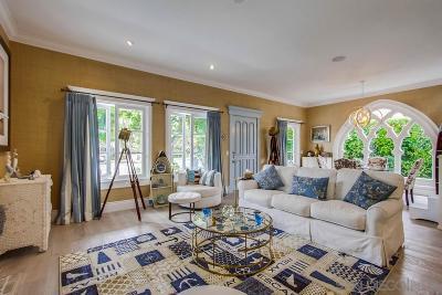 Coronado CA Multi Family 2-4 For Sale: $4,595,000