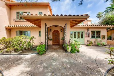 Encinitas Single Family Home For Sale: 1183 Saxony Rd