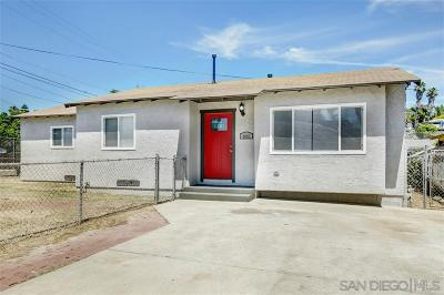 San Diego Single Family Home For Sale: 881 51st St