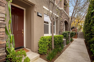 San Marcos Townhouse For Sale: 1355 Abbey Ln