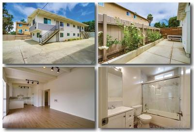 Encinitas Multi Family 2-4 For Sale: N Vulcan