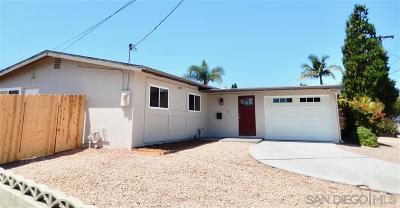 Clairemont Single Family Home For Sale: 5177 Canosa Ave