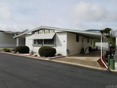 San Marcos Mobile/Manufactured For Sale: 3535 Linda Vista Dr #138