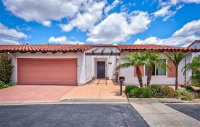 Escondido Townhouse For Sale: 1126 San Jacinto