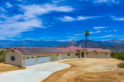 Valley Center Single Family Home For Sale: 28005 Via Viso