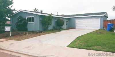 San Diego Single Family Home For Sale: 2820 Wyandotte