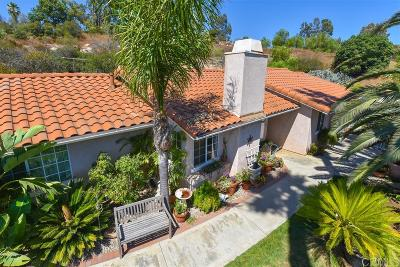 Valley Center Single Family Home For Sale: 18520 Los Hermanos Ranch
