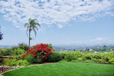 Solana Beach Single Family Home For Sale: 654 San Mario Dr