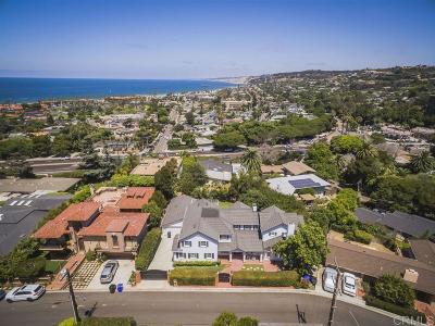 La Jolla Single Family Home For Sale: 3 E Roseland Dr
