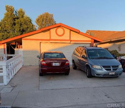 San Diego Single Family Home For Sale: 879 Stillwell Ave
