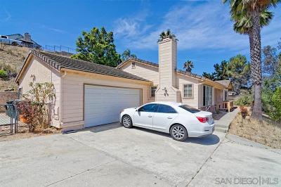 Vista Single Family Home For Sale: 1525 Phillips St
