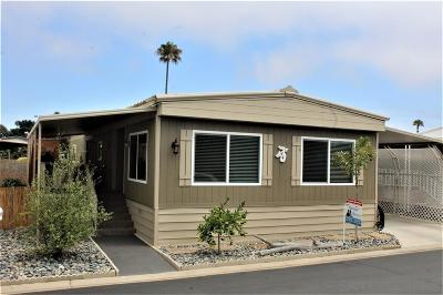 Carlsbad Mobile/Manufactured For Sale: 7110 San Luis St #129