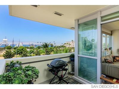 San Diego Attached For Sale: 1431 Pacific Hwy #413