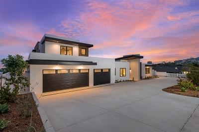 La Jolla Single Family Home For Sale: 6638 Avenida De Las Pescas