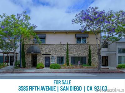 San Diego Single Family Home For Sale: 3585 5th Avenue