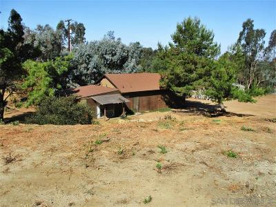 Valley Center Single Family Home For Sale: Roadrunner Ridge