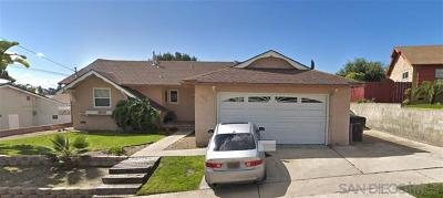 San Diego Single Family Home For Auction: 2866 Beatrice
