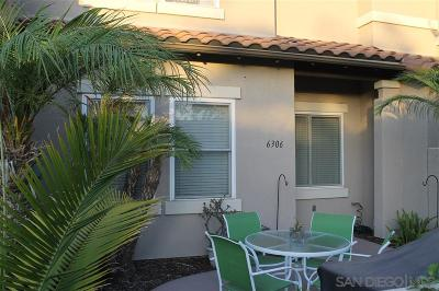 Carlsbad Townhouse For Sale: 6306 Citracado Cir