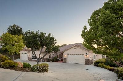 Poway Single Family Home For Sale: 13695 Indian Peak Trail