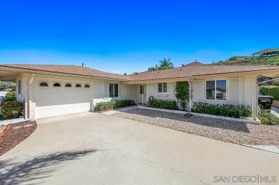 Rancho Bernardo, San Diego Single Family Home For Sale: 12145 Santiago Rd W