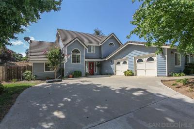 Ramona Single Family Home For Sale: 23517 Barona Mesa Rd.