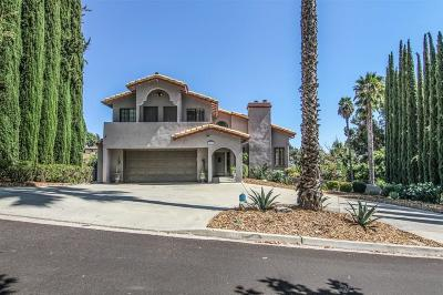 Escondido Single Family Home For Sale: 2667 Gianelli Lane