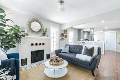 North Park, North Park - San Diego, North Park Bordering South Park, North Park, Kenningston, North Park/City Heights Single Family Home For Sale: 3175 Lincoln Ave