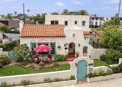 La Jolla Single Family Home For Sale: 1288 Silverado St.