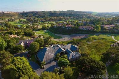 Rancho Santa Fe Single Family Home For Sale: 5918 Fairway Place
