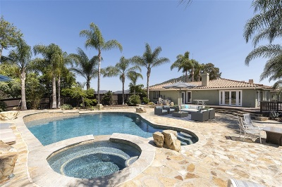 Escondido Single Family Home For Sale: 6949 Elfin Oaks Rd.