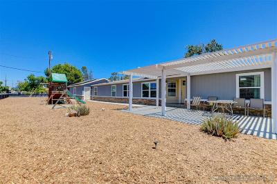Escondido Single Family Home For Sale: 691 McDonald Ln