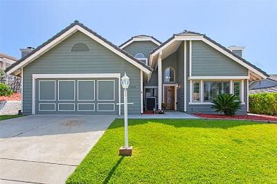 Encinitas Single Family Home For Sale: 1575 Hawk View