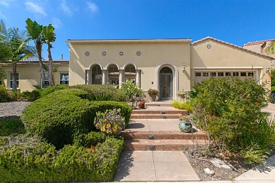 Encinitas Single Family Home For Sale: 1002 Scarlet Way