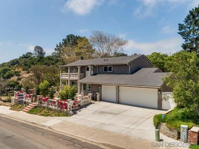 Pacific Beach Single Family Home For Sale: 5122 Edgeworth Rd