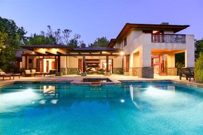 Rancho Santa Fe Single Family Home For Sale: 5465 La Crescenta