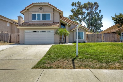 Oceanside Single Family Home For Sale: 3321 Tonopah St