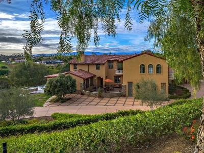 Fallbrook Single Family Home For Sale: 2703 Via Rancheros