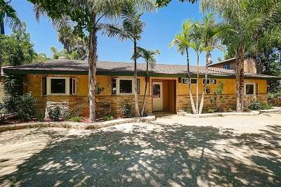 Valley Center Single Family Home For Sale: 29439 Sierra Rojo Ln