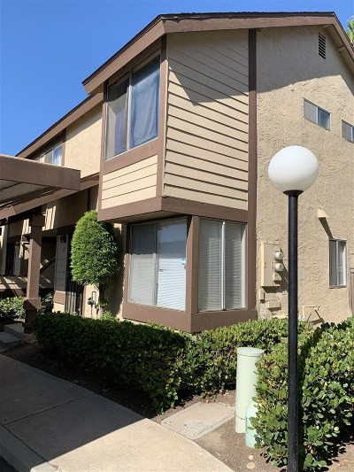 San Diego County Attached For Sale: 1576 Oro Vista Dr #271