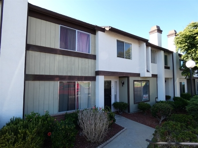San Diego Townhouse For Sale: 745 Beyer Way