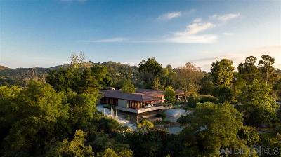 Escondido Single Family Home For Sale: 10283 Hidden Meadows Road
