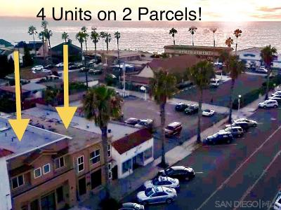 San Diego Multi Family 2-4 For Sale: 4739-41 Point Loma Ave