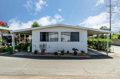 Vista Mobile/Manufactured For Sale: 718 Sycamore Ave #47