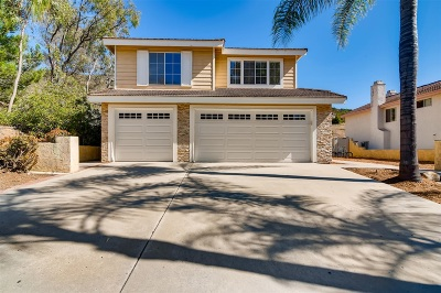 Poway Single Family Home For Sale: 15295 Garden Rd