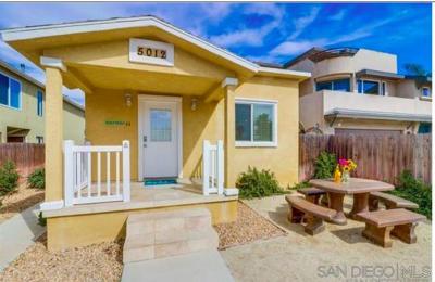 Ocean Beach Rental For Rent: 5012 Del Monte Ave