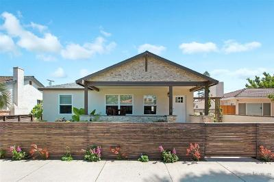 San Diego Single Family Home For Sale: 1067 Oliver Avenue