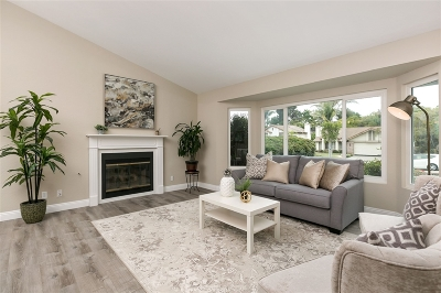 Encinitas Single Family Home For Sale: 1639 Orange Blossom Way