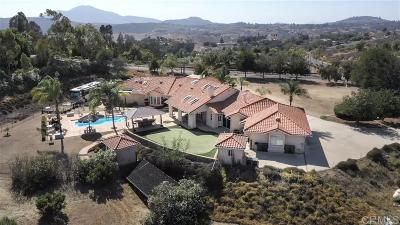 Single Family Home For Sale: 14651 Presilla Dr