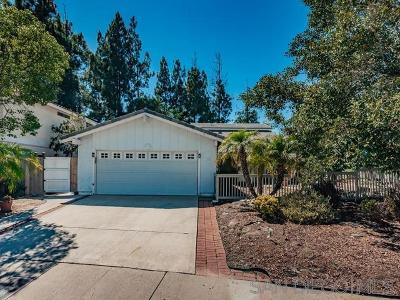 San Diego Single Family Home For Sale: 11094 Carlota Street